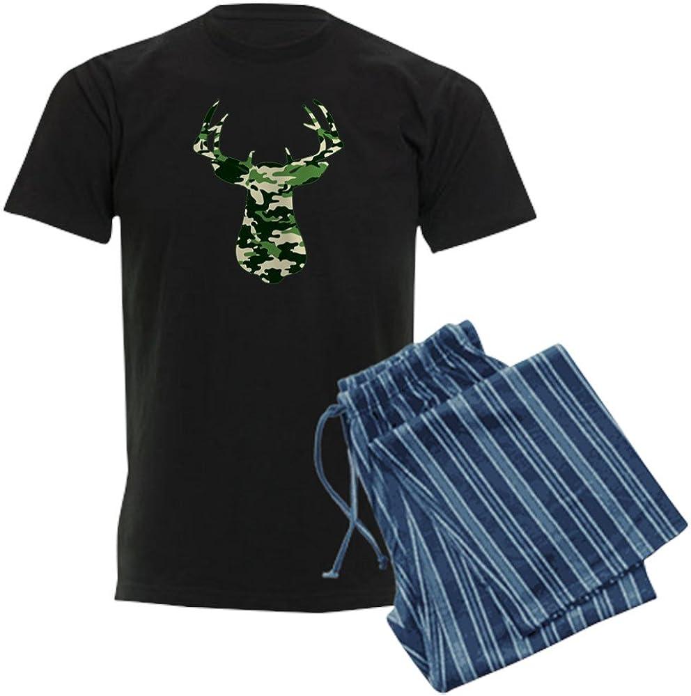 CafePress Buck in CAMO Mens Dark Pajamas Pajama Set