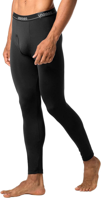 LAPASA Uomo Pantaloni Termici Pacco da 2 o 1 Ti Tiene al Caldo Senza Stress Intimo Invernale Lightweight M10