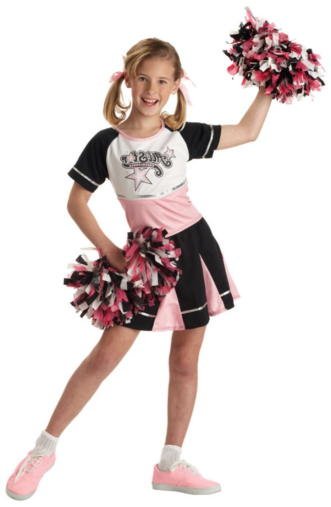 Amazon.com California Costumes All Star Cheerleader Child Costume Small Toys u0026 Games  sc 1 st  Amazon.com & Amazon.com: California Costumes All Star Cheerleader Child Costume ...