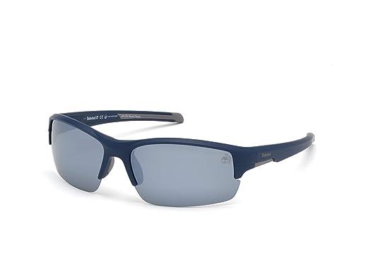 Timberland TB9173 Gafas de Sol, Azul (Matte Blue/Smoke ...