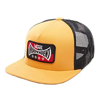 Vans X Independent Snapback -Fall 2018-(VN0A3HMHHF01) - Sunflower - One Size