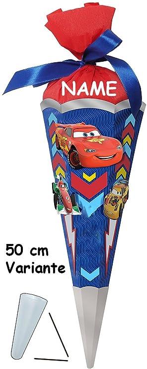 Zu mit // ohne Kunststoff Spitze Disney Cars 50 // 85 cm BASTELSET Schultüte