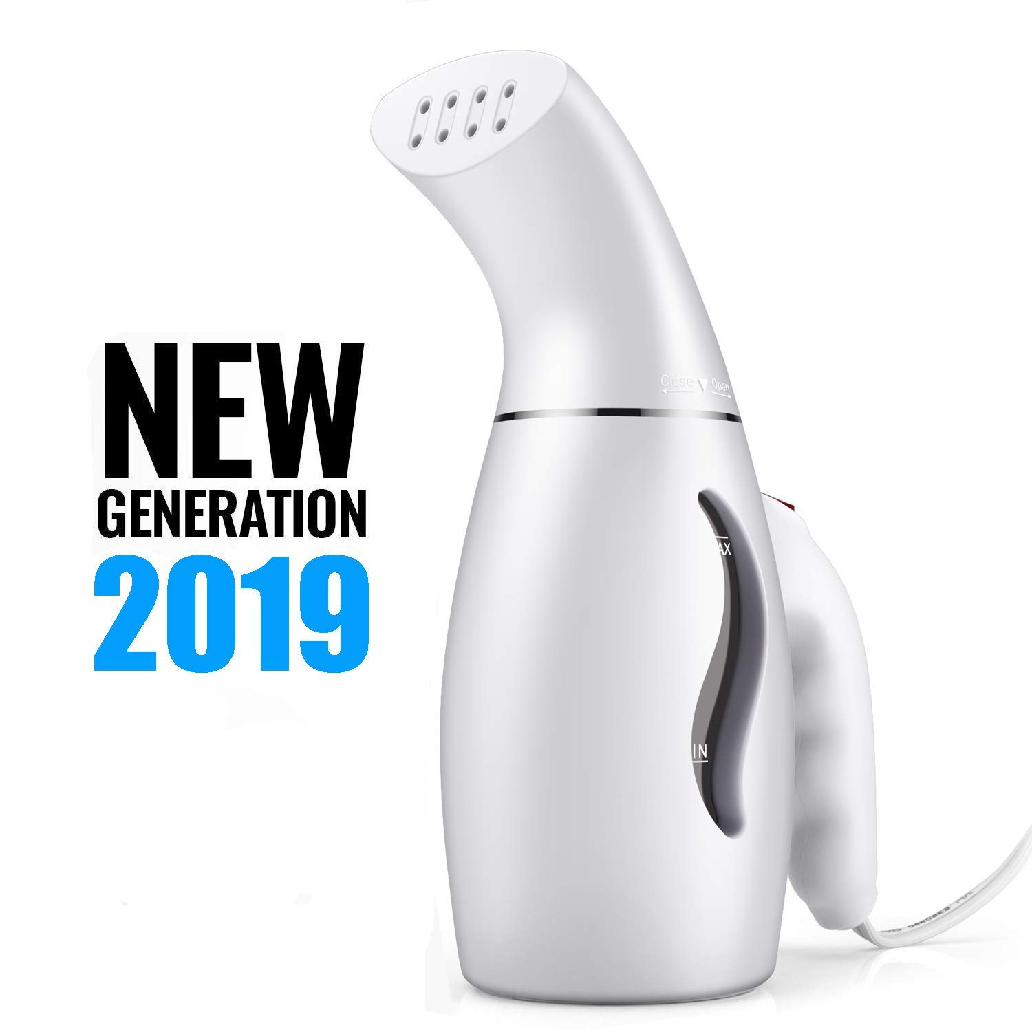 Steamer for Clothes, 110V Handheld Clothes Steamers. Powerful Steamer Wrinkle Remover. Clean, Sterilize and Steamer Garment and Soft Fabric. Portable, Compact-Travel/Home. product image
