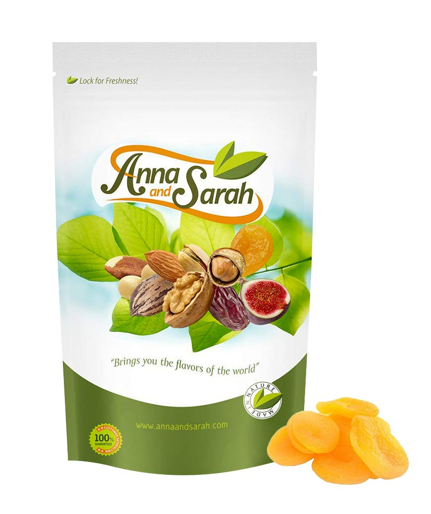 Anna and Sarah Dried Turkish Apricots in Resealable Bag, 3 Lbs by Anna and Sarah (Image #3)