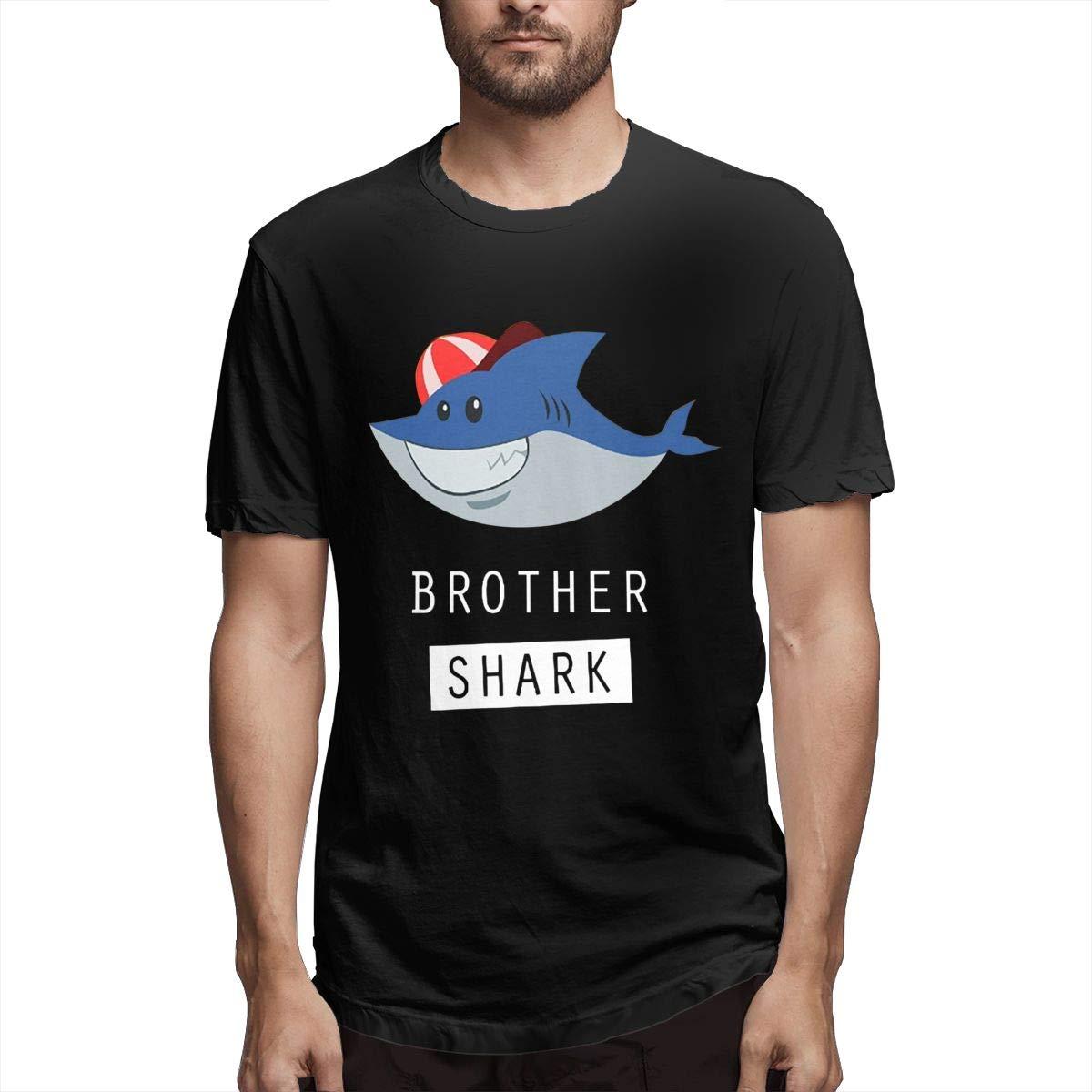 Linging Man Personalized Breathable Brother Shark Baby Shark Doo Doo Doo Short Sleeve New