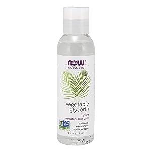 NOW Solutions Glycerine Vegetable, 4-Fluid Ounces