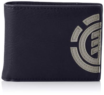 Element Z5WLA3 ELF6 - Billetera de Sintético Hombre, Color Azul, Talla 11x9x2 cm (