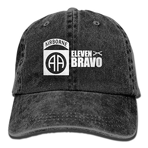 LPENAW Classic Jeans CapsUS Army 82nd Airborne Division Jeans Hats Adjustable Cap For Mens And Womens