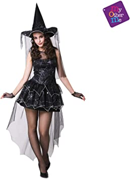 My Other Me Me Me - Halloween Bruja Disfraz, color negro, S ...