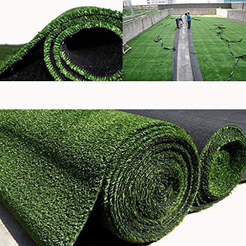 YNFNGXU 人工芝グラスカーペットマット、超高密度プラスチック偽芝の屋根のフェンス屋外装飾10 mmパイル高さ(2x1m) (Size : 2x8m)