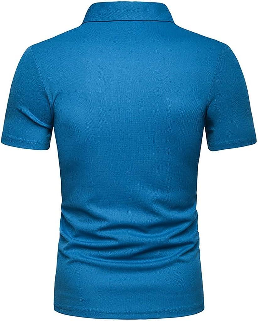 waotier Camiseta De Manga Corta para Hombre De Moderno Camiseta ...