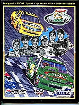 Kentucky Speedway Quaker State 400 NASCAR Program 7/9/2011-1st race-VF/NM