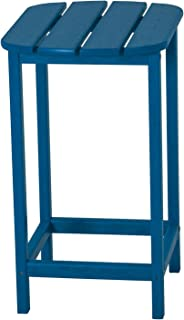 """product image for POLYWOOD SBT26PB South Beach 26"""" Counter Side Table, Pacific Blue"""
