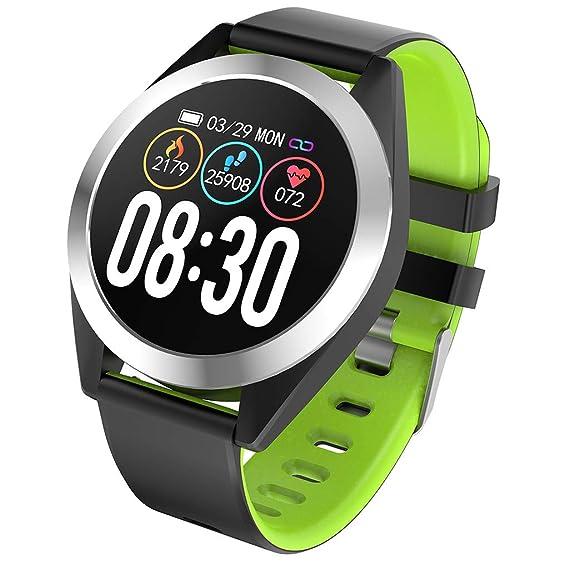 Reloj Inteligente Smartwatch Hombre Impermeable IP67 Pulsera ...