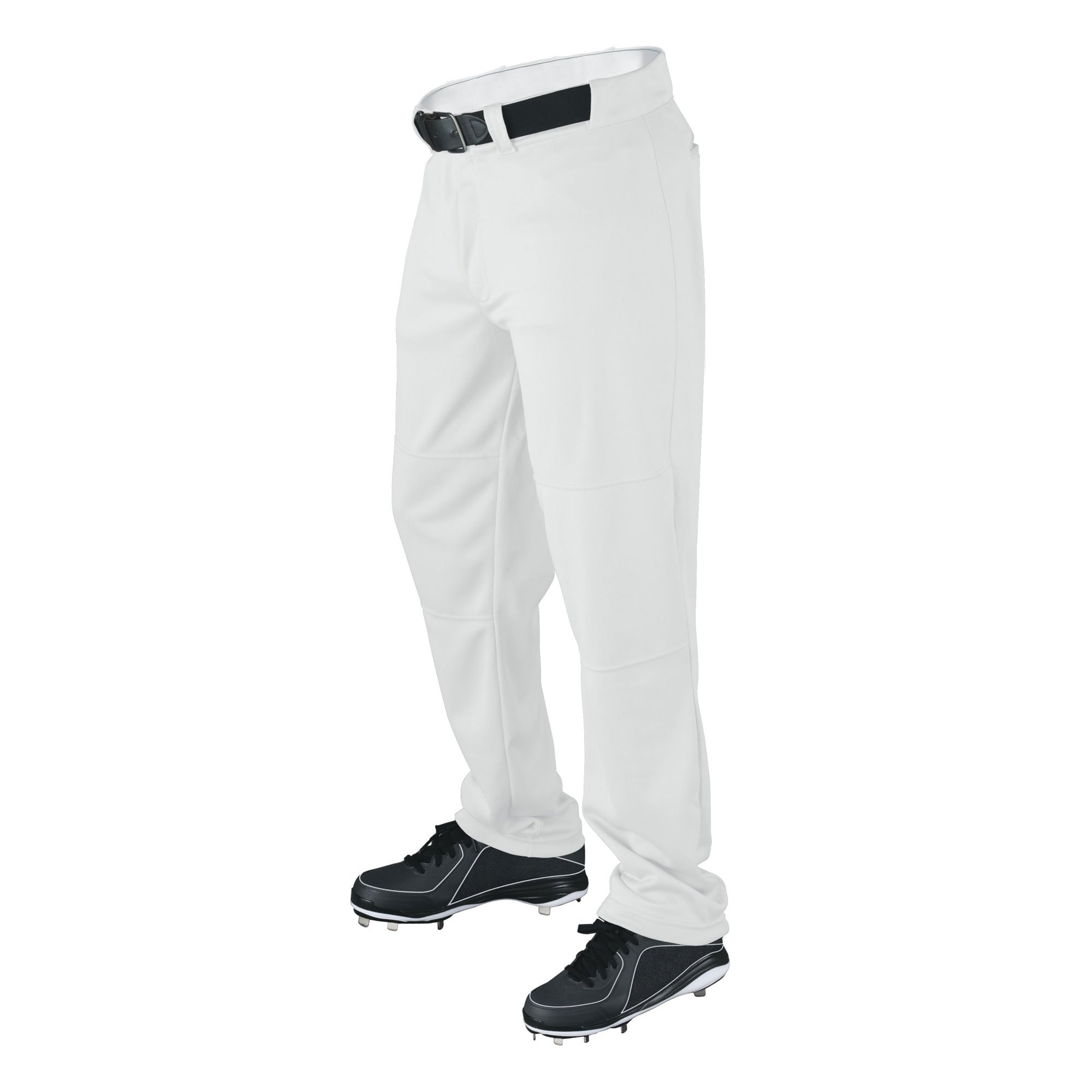 Wilson Youth Classic Relaxed Fit Baseball Pant, White, Large by Wilson