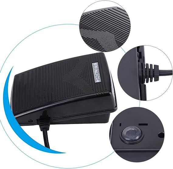 Akozon Pedal Eléctrico para Máquinas de Coser para Feiyue FY811 FY812 200-240V 0.5A: Amazon.es: Bricolaje y herramientas
