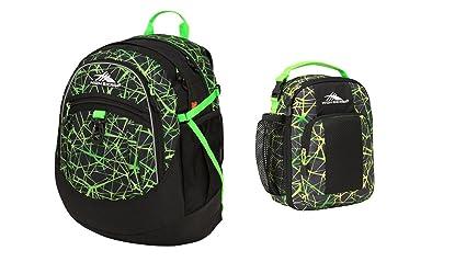 85a0951d5a Amazon.com  High Sierra (TM) Digital Web Lime Fatboy Backpack with ...