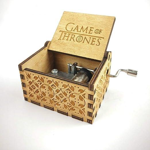 ToomLight Crafts Juego de Tronos Caja de música Antigua ...
