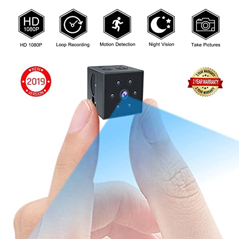 Amazon.com: Small Spy Camera, PinLife Mini Spy Camera HD ...
