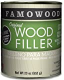 FamoWood 36021142 Original Wood Filler - Pint, Walnut