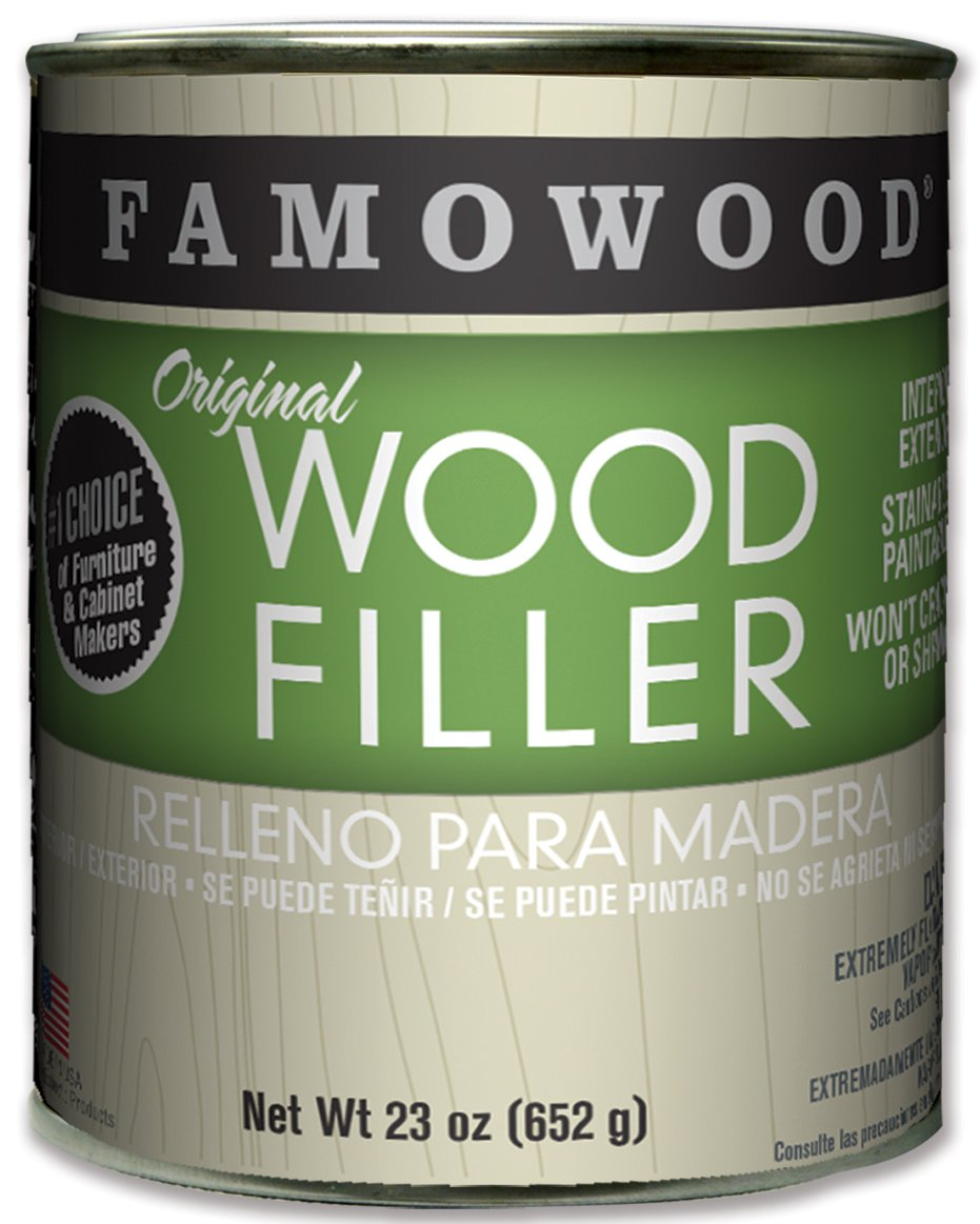FamoWood 36021110 Original Wood Filler - Pint, Cherry by FamoWood
