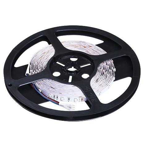 Jago 3528RGB - Tiras de luces (300x LED, con 24 teclas de control remoto): Amazon.es: Bricolaje y herramientas
