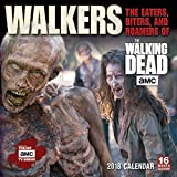 Walkers: The Eaters, Biters, And Roamers Of The Walking Dead  2018 Wall Calendar (CA0101)