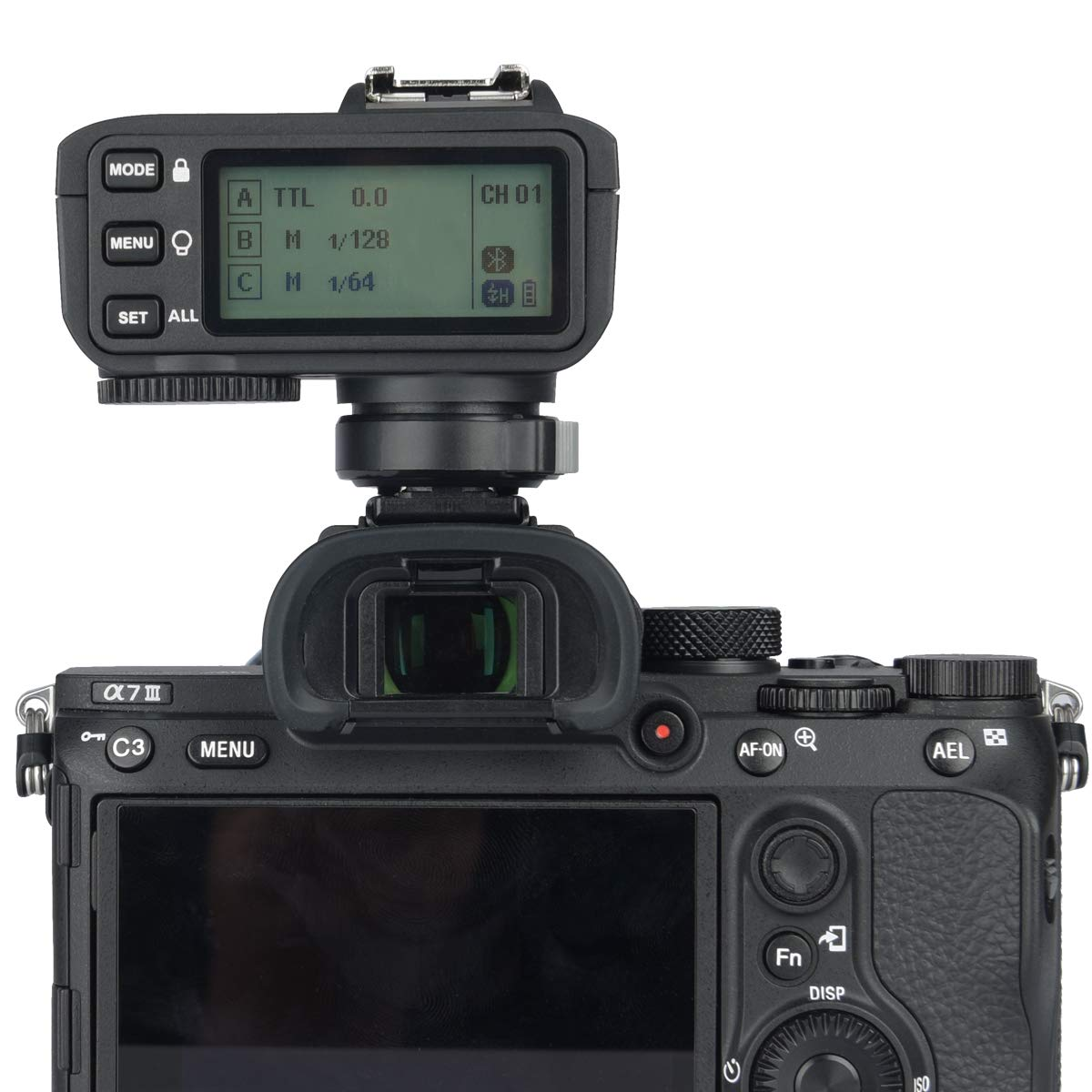 Godox X2T-S TTL Wireless Trigger, 1/8000s High-Speed Sync 2.4G TTL Transmitter, Compatible with Sony DSLR (X2T-S) by Godox (Image #6)