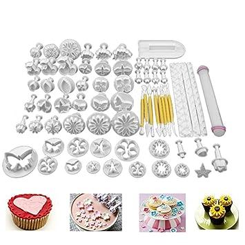 68pcs Set Diy Cake Cutters Molds Cake Decoration Tool Set Fondant