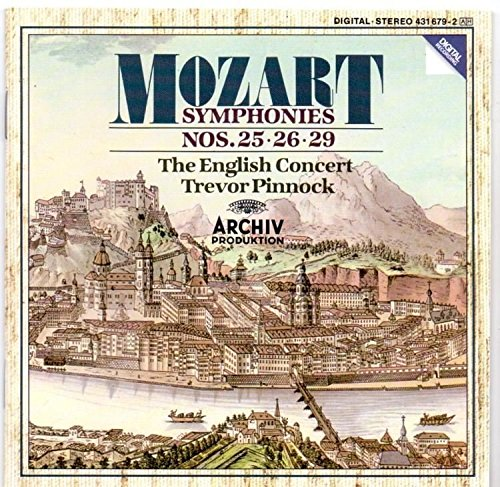 pinnock mozart symphonies - 9