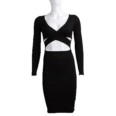 99f31d1f53644 COOCOl Blue Black White Long Sleeve Elastic Cotton Winter Elegant ...