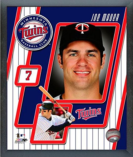 Joe Mauer Studio - Joe Mauer Minnesota Twins MLB Studio Plus Composite Photo (Size: 12