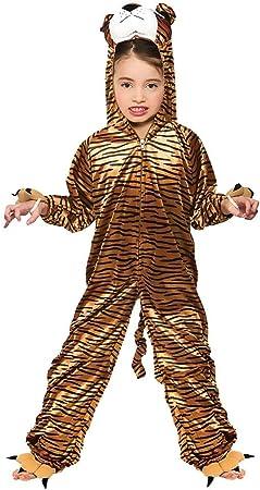Tiger - Disfraz de tigre para niño, talla M (KA-4400. M): Amazon ...