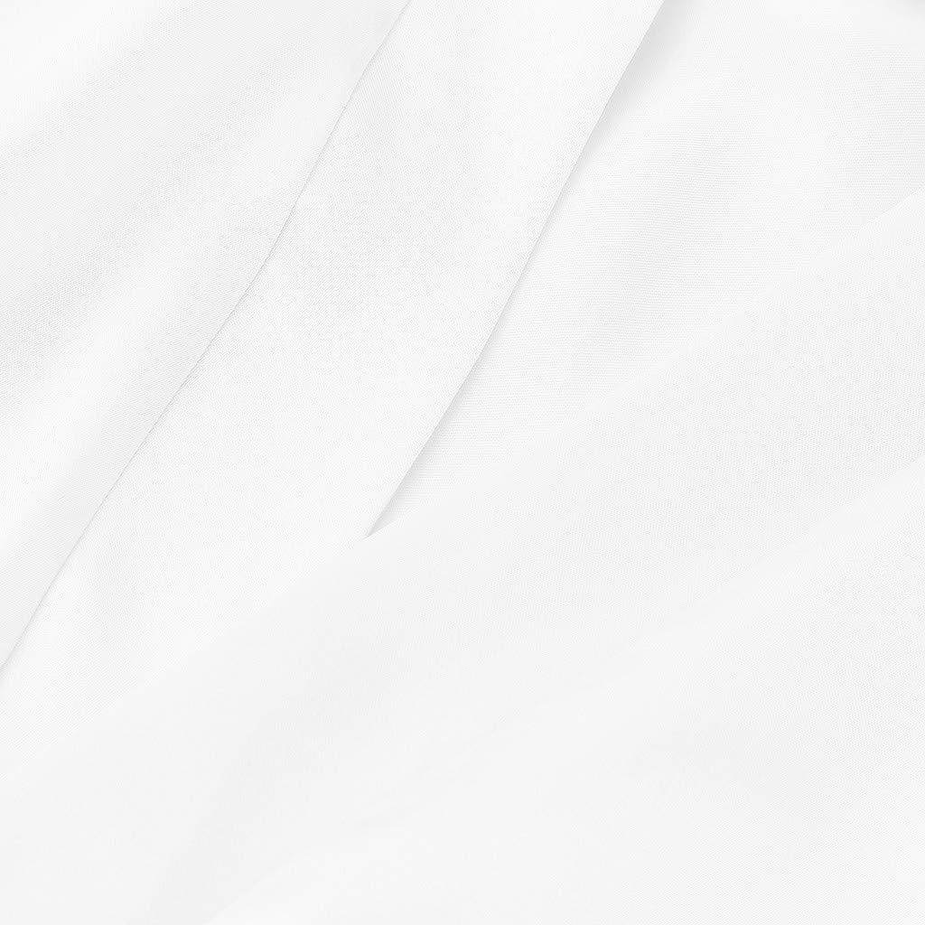 Clothful???????????? , Toddler Baby Kids Girls Solid Silk Satin Kimono Robes Bathrobe Sleepwear Clothes White by Clothful (Image #5)