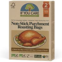If You Care Parchment Roasting Paper Bags – Pack of 2 - Unbleached, Chlorine Free, Nonstick, Compostable, Silicone…