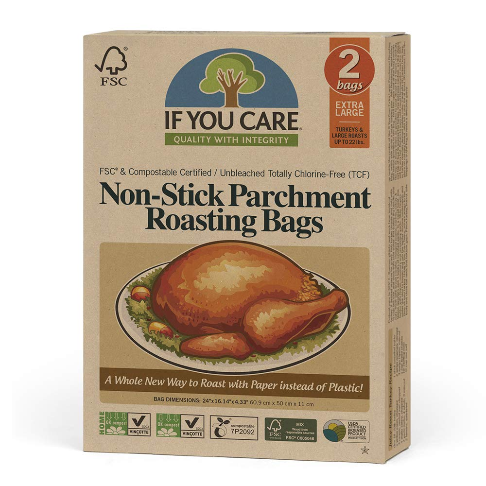 IF YOU CARE Non-Stick Parchment Roasting Bags, Extra Large