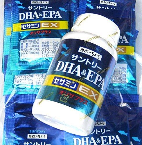 サントリー DHA&EPA+セサミンEX 360粒 (240粒+120粒 B00BN2GABC