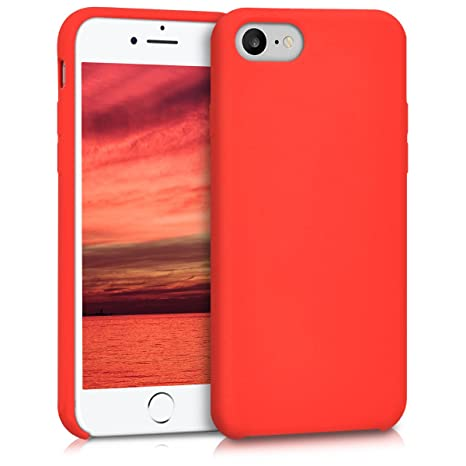 iphone 7 coque silicone fluo