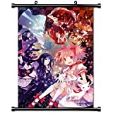 "1 X Mahou Shoujo Madoka Magica Anime Fabric Wall Scroll Poster (16"" X 24"") Inches"