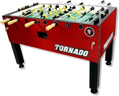 Tornado Torneo 3000 futbolín, Rojo: Amazon.es: Deportes y aire libre