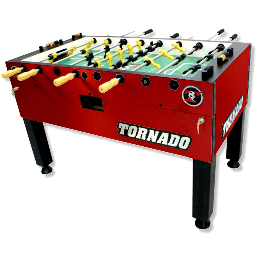 Tornado T-3000 Foosball Table with 1-Man Goalie Valley-Dynamo
