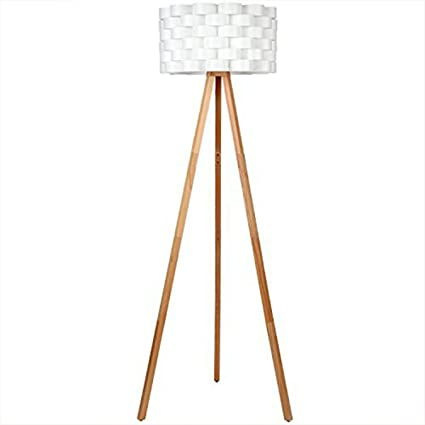 Brightech Bijou LED Tripod Floor Lamp Contemporary Design For Modern Living  Rooms   Soft, Ambient
