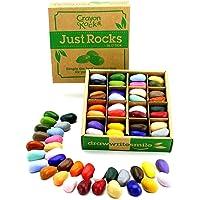 Solo Piedras en Caja con 64 crayones de 32 colores