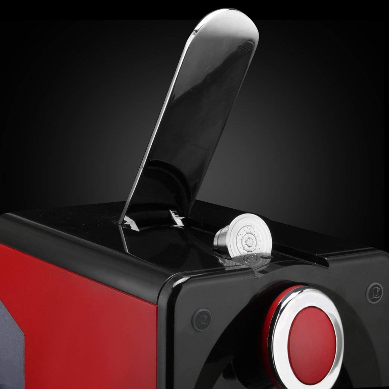 Ba30DEllylelly Tamper gocciolatore con filtro per capsule ricaricabili in acciaio inossidabile compatibile con macchina da caff/è Nespresso U.