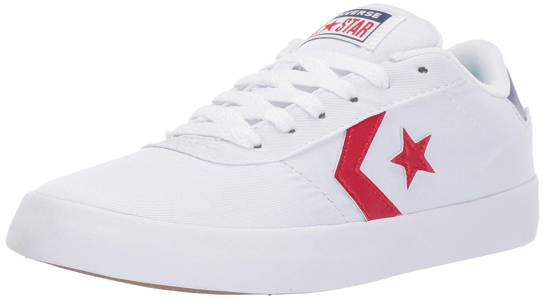 blanc Enamel rouge Navy Converse - Basket Basse Basse Point Star - pour Femme Femme