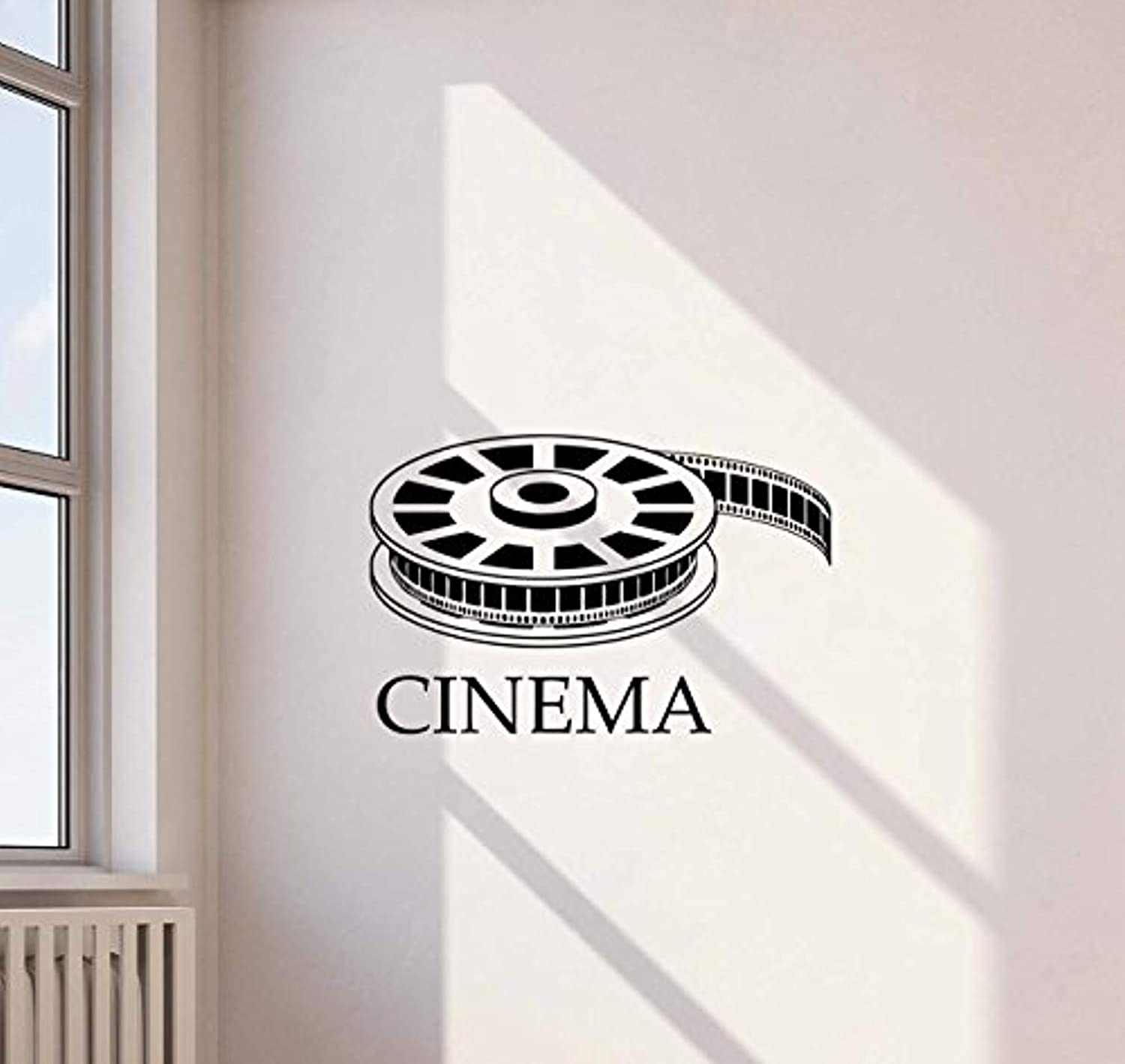 high end home decor.htm amazon com cinema vinyl wall decal film reel strip home theater  cinema vinyl wall decal film reel