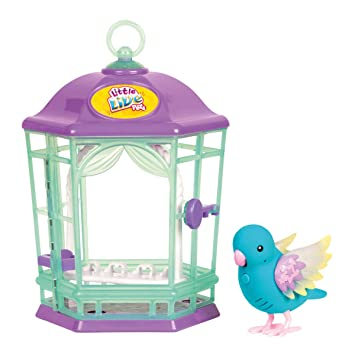 little live pets PAJARITO PARLANCHIN con Jaula Serie 8: Amazon.es ...