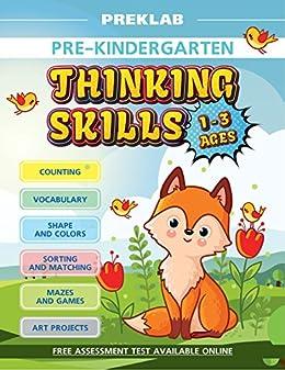 1544d725797 Amazon.com  Toddler workbook 1-3 years prek workbooks age 1 2 3 pre ...