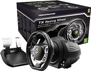 Volante c/ Pedais Thrustmaster Tx Racing Ferrari 458 Italia Ed. - Xbox One e Pc