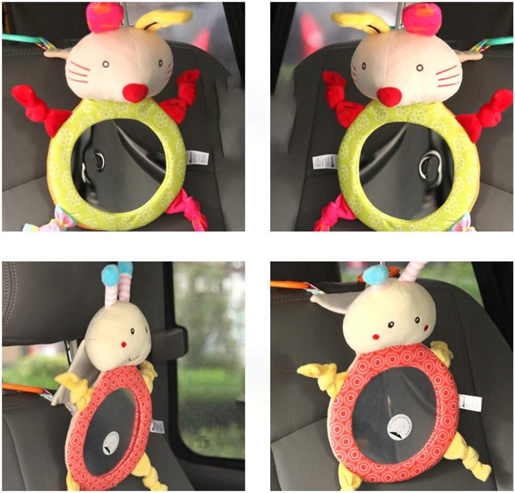 specchietto retrovisore per Auto per Bambini Nikunty Accessorio per Auto per Bambini Carino Giocattolo di Peluche Mini specchietto ausiliario specchietto retrovisore 5#